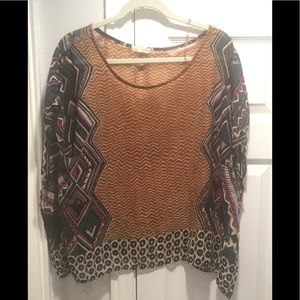 One Clothing Sheer Top Size S